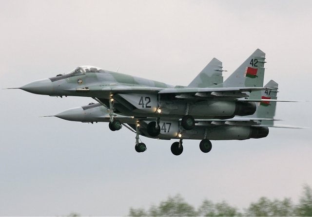 Belarus plans to replace MiG 29 fighters with Su 30SMs after 2020 640 001
