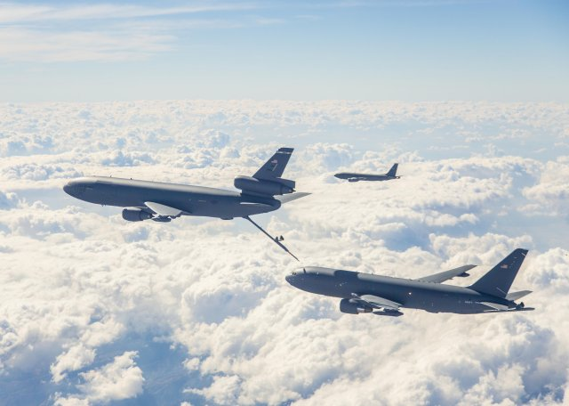First KC-46 out of Boeing to conduct tests with USAFjpg