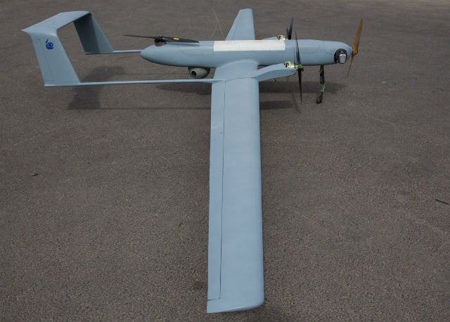 IAI and Hankuk Carbon disclose a new tactical VTOL UAS the Front Engine Panther 640 001
