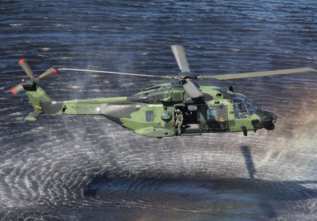 Patria to supply NH90 helicopter spare parts for Swedish and Finnish Armed Forces 640 001
