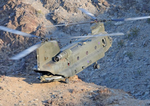 QinetiQ to evaluate upgrade to RAF Chinook Automatic Flight Control System 640 001
