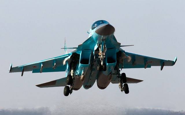 Russia takes delivery of another batch of Su 34 strike fighters 640 001
