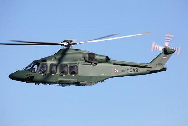 The Royal Thai Army orders 8 more AgustaWestland s AW139 medium sized helicopters 640 001