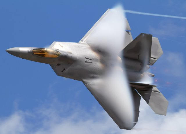 USAF F 22 Raptor stealth fighters to perform aerial demonstration at ADEX 2015 640 001