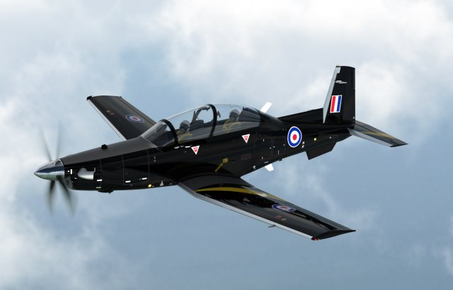 Beechcraft to provide 10 T 6C Texan II training aircraft for UK s Military Flying Training System 640 001