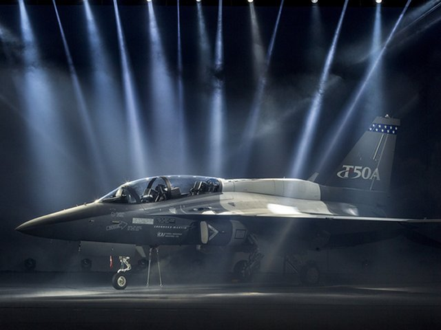Lockheed Martin officially offers its T 50A trainer for USAF Advanced Pilot Training program 640 001