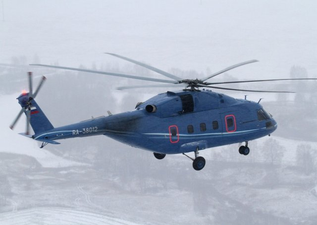 Mil Helicopters starte working on Mi 38 helicopter military variant 640 001