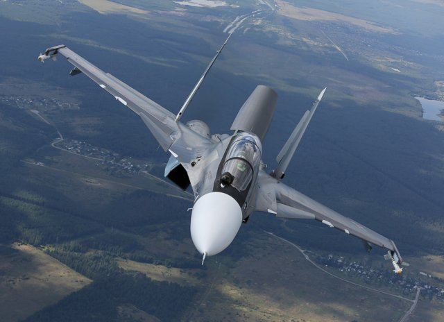Russia Southern Military District receives four ew Su 30SM fighter jets 640 001