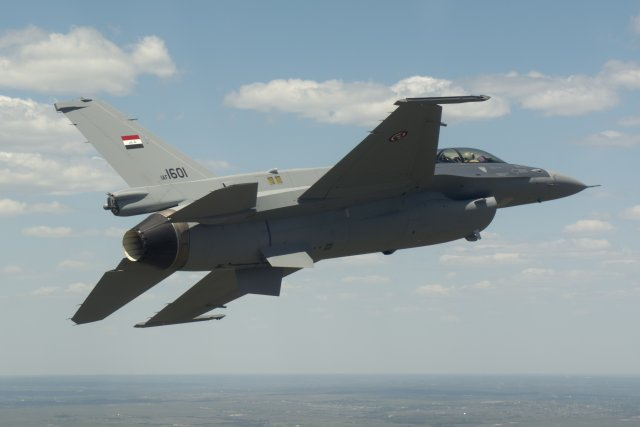 Second batch of F 16 fighter jets has been delivered to Iraqi Air Force 640 001