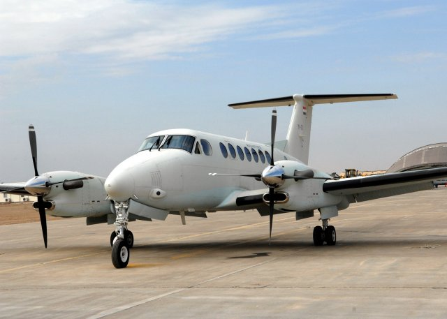 US approves a 350 FMS from Iraq for King Air 350 aircraft fleet support 640 001