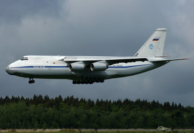 Aviastar SP to upgrade three An 124 Ruslan transport aircraft 640 001