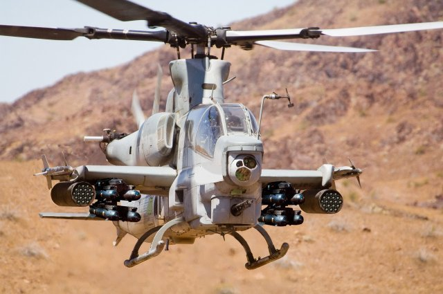 Bell wins 581 mn contract for delivering UH 1Y and AH 1Z helicopters to USMC and Pakistan 640 001