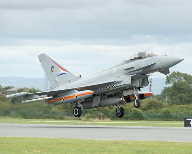 British pilots successfully tested Eurofighter Typhoon s latest enhancements 640 001