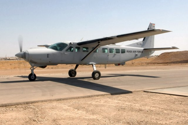 Cessna wins a 55mn contract for Iraqi Air Force C 208s Caravan fleet support 640 001