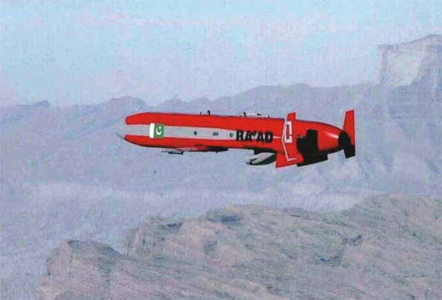 Pakistan successfully flight tests homemade Ra ad Air Launched Cruise Missile 640 001