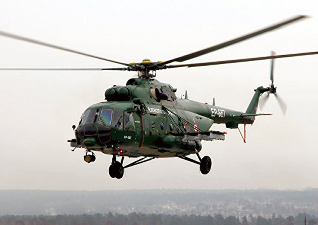 Peruvian Army takes delivery of its last batch of Mi 171Sh helicopters 640 001