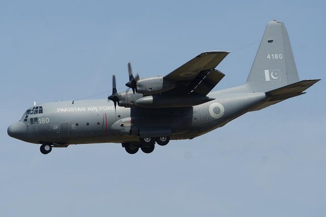 Rockwell Collins wins a 30 mn contract to sustain Pakistan s C 130 Hercules fleet 640 001