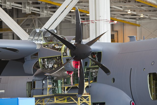 Rolls Royce receives 150mn in orders from USAF for C 130J engines support 640 001