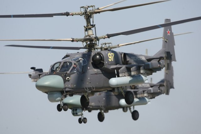 Russi Southern Military District to receive 20 new Ka 52 Alligator attack helicopters in 2016 640 001