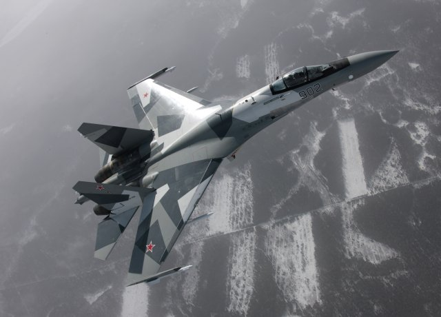 Russia Eastern Military District takes delivery of two new Su 35S multirole fighter aircraft 640 001