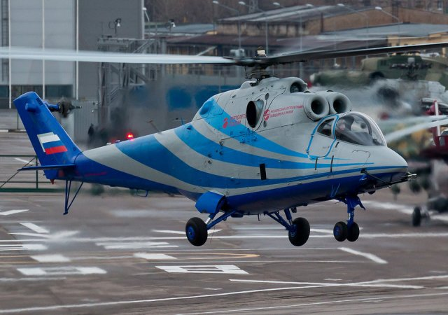 Russian Helicopters Laboratory about to start flight tests campaign 640 001