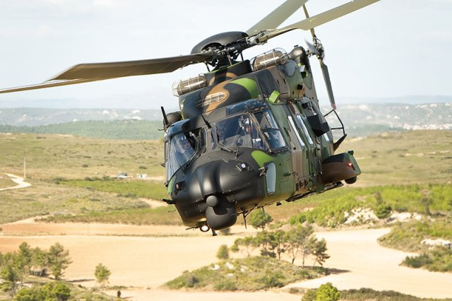 Six more NH90 TTH Caïman helicopters ordered for the French Army 640 001