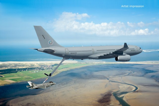 Netherlands Luxembourg purchase two Airbus A330 MRTT tanker aircraft 640 001