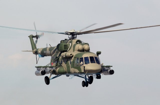 Russia receives another batch of Mi 8ATMSh combat and transport helicopters 640 001