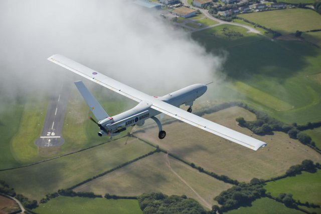 Thales wins 107 Mn contract to support British Army s Watchkeeper UAVs 640 001