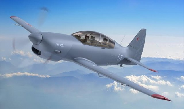 Yak 152 training aircraft serial production planned to start in March 2017 640 001