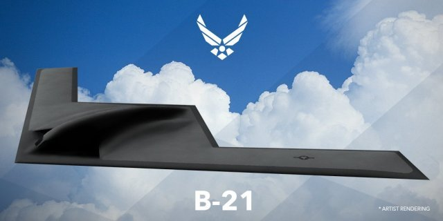 USAF selects seven key partners to develop next gen B 21 bomber 640 001