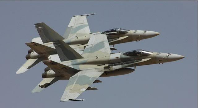 US approves a 420 mn FMS from Kuwait forFA 18 C D support 640 001