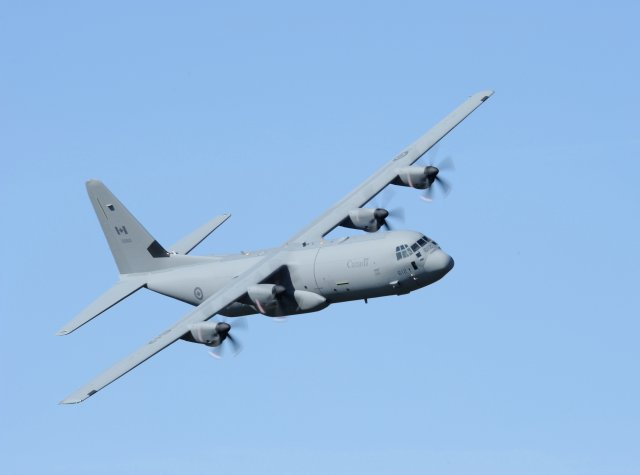 Cascade Aerospace delivers final upgraded CC 130J airlifter to RCAF 640 001