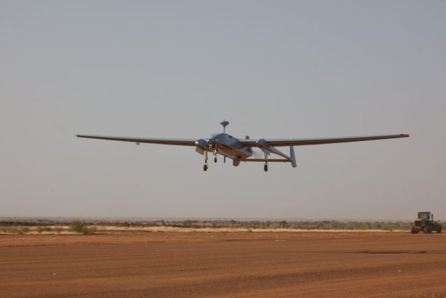 German Bundeswhe s Heron 1 UAV starts urveillance mission in Mali 640 001
