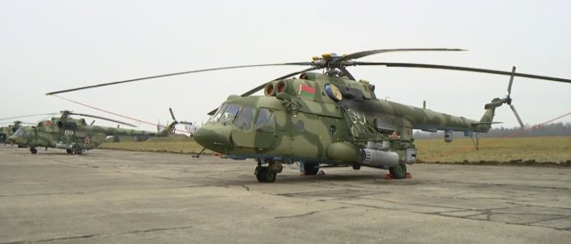 Russian Helicopters hands overs first batch of Mi 8MTV 5 helicopters to Belarus 640 001