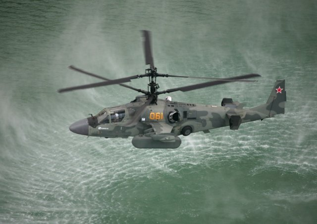 Russian Southern Military District fets three new Ka 52 combat helicopters 640 001