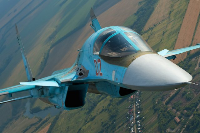 Three more Su 34 frontline bombers delivered to Russian Air Force 640 001