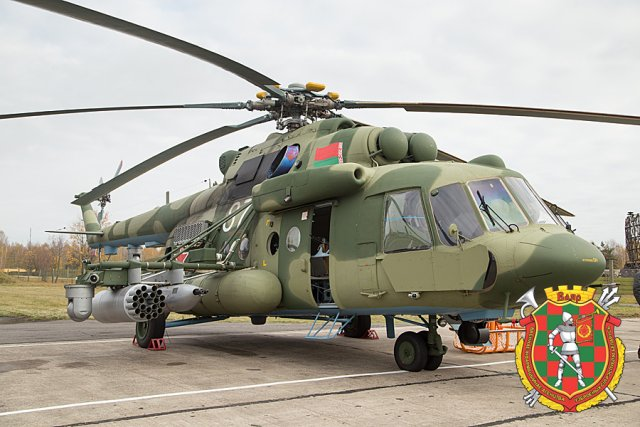 Belarus receives inal batch of six Mi 8MTV 5 multirole helicopters 640 001