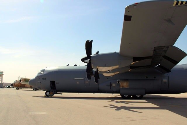 IAF receives upgraded C130Hercules Super Hercules military airlifters 640 001