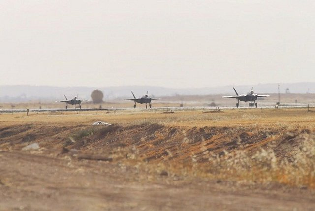 Israe Air Force takes delivery of three more F 35I Adir fighter jets 640 002