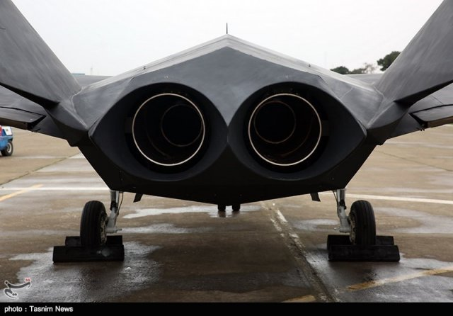 New pictures of Iran s homegrown Qaher F 313 stealth fighter jet emerged 640 002
