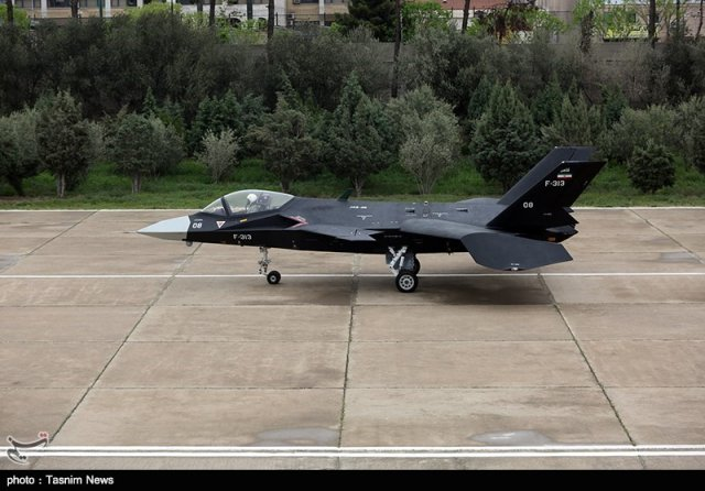 New pictures of Iran s homegrown Qaher F 313 stealth fighter jet emerged 640 003