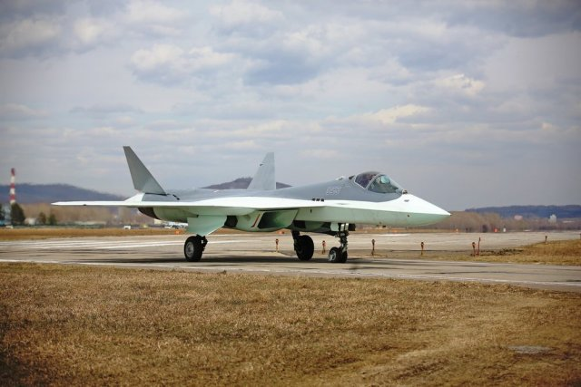 Sukhoi starts testing new IMA BK FMS on Russia PAK FA fighter 640 002