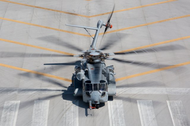 US Marine Corps CH 53K  King  Stallion helicopter approved for productio 640 001