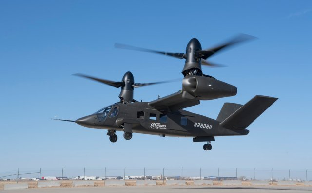 Bell Helicopter s V 280 tiltrotor aircraft is airborne 640 001