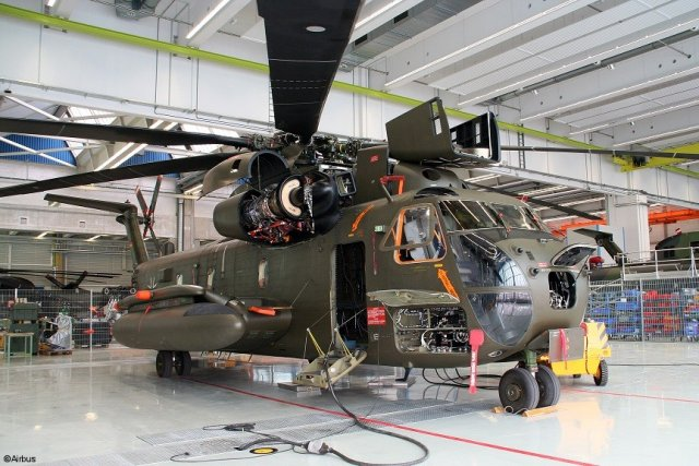 Airbus Helicopters to overhaul 26 German CH 53 heavy lift helicopter 640 001