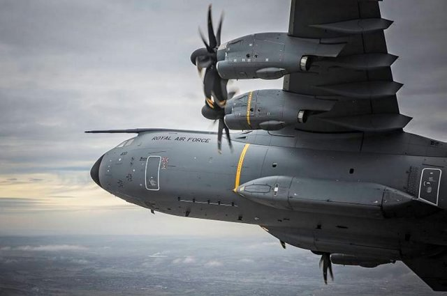 Airbus win a 507 mn contract from UK for A400M Atlas airlifter support 640 001