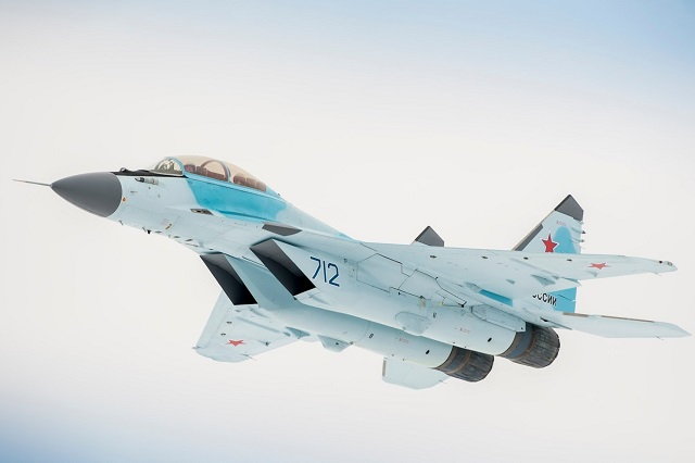 MiG 35 multirole Fighter Russia Russian Air Force 1
