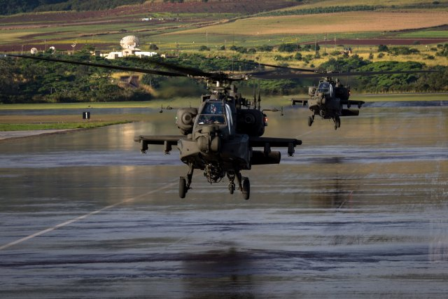 United States to deploy 24 AH 64D combat helicopters in South Korea by February 640 001