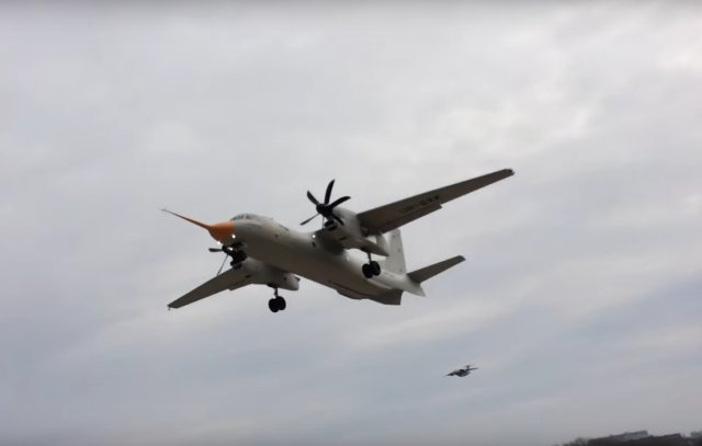 Antonov s new An 132D airlifter completes its maiden flight 640 001